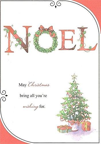 Pack de 10 tarjetas navideñas tradicionales - Corona de Navidad ...