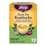 Yogi Tea Kombucha Green Tea 16 ea (pack of 2)