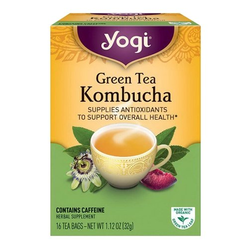 Yogi Tea Kombucha Green Tea 16 ea ( pack of 2)