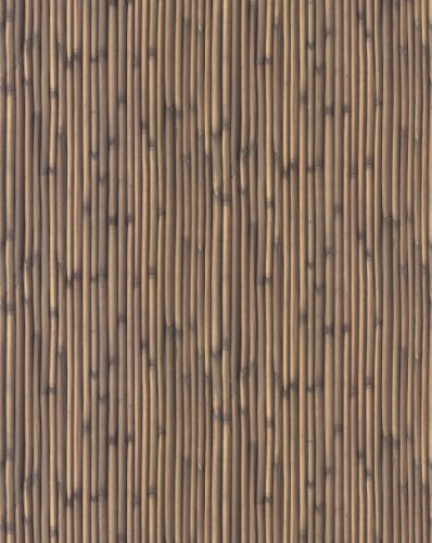 Brewster 431-7311 Destinations by The Shore Bamboo Wallpaper, 20.5-Inch by 396-Inch, Brown (Designer Fabric Wallpaper)