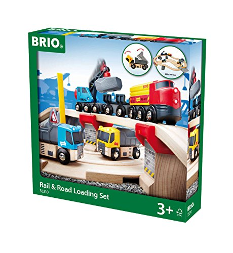 - Brio Rail and Road Loading Set