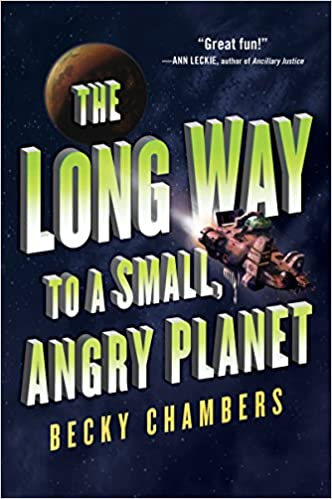 The Long Way to a Small Angry Planet US cover