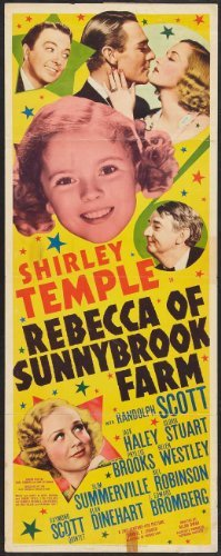 (Rebecca of Sunnybrook Farm POSTER Movie (14 x 36 Inches - 36cm x 92cm) (1938) (Insert Style A))