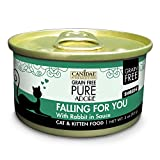 Canidae Grain Free Pure Adore: Falling For You Cat Wet Food With Rabbit, 3 Oz (18-Pack) Larger Image