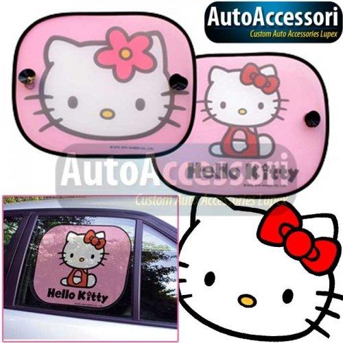 Tendina parasole laterale 2pz Hello Kitty