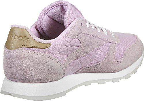 Donna Classic Reebok Scarpe Leather Sneaker worn Viola Sea dvw7zqgAw