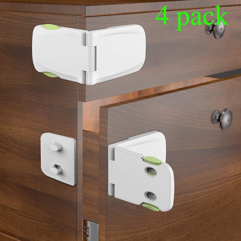 Toddler Baby Kids Child Safety Locks Proof Cabinet Drawer Fridge Cupboard Door