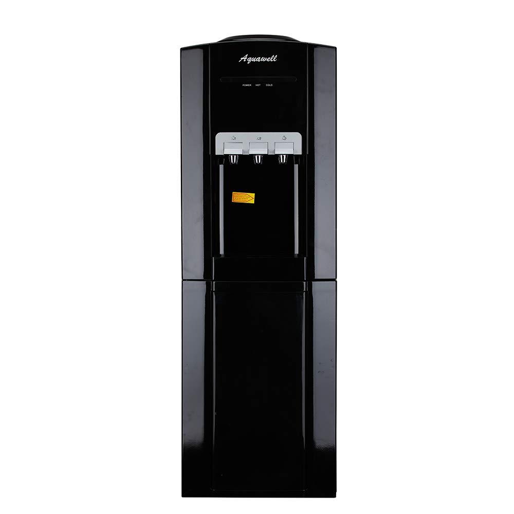 AQUAWELL Water Cooler Dispenser, Freestanding Hot & Cold Water Dispenser, Commercial Top Loading Water Dispenser for Home, Office, Hotel, Restaurant, etc.