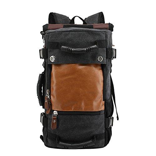 hukoer-4-in-1-canvas-lantop-backpack-handbag-vintage-messenger-bag-luggage-bag-35l-capacity-multifun