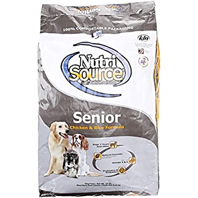 Nutri Source Senior Dog Food - Chicken & Rice