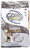 Nutrisource, Dry Dog Food, Senior Chicken & Rice Formula, 18 lb For Sale