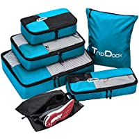 6-Set TripDock Various Packing Cubes Lightweight Travel Luggage Organizers