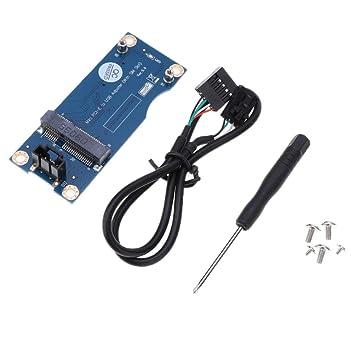 Almencla Mini PCI Express Inalámbrico A USB Ranura De ...