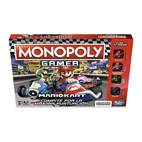 chollos oferta descuentos barato Monopoly Gamer Mario Kart Versión Española Multicolor única Hasbro E1870105