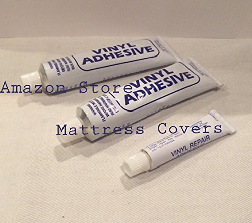 Three Vinyl Repair Patch Kits For Waterbed Mattresses Air