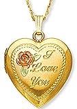 Black Hills Gold Heart I Love You Locket