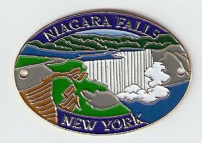 Niagara Falls Hiking Stick Medallion