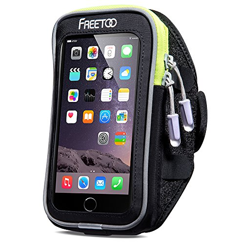 Sport Armband FREETOO Intelligent Touchscreen Water Sweat Resistant - Armband Case Holder Bag