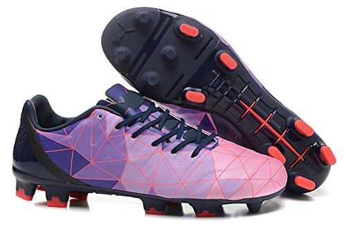 haovetre Schuhe Fußball Evopower 1,2Camo FG violett Herren Stiefel