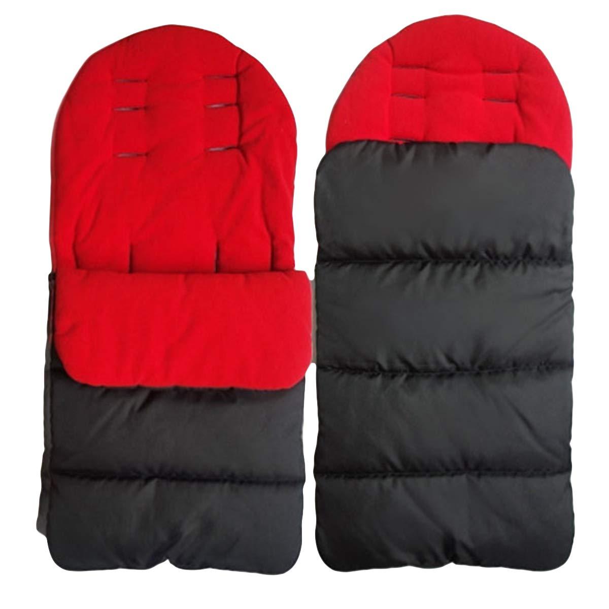 Tabpole Baby Bunting Bag Universal 3-in-1 Stroller Windproof Warm Sleeping Bag Toddler Footmuff for Car Seat Stroller