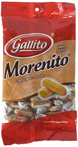 Gallito Morenito Hard Candy, 2 Bags of 7.5 Ounces
