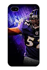 Pinkroses Perfect Baltimore Ravens Case Cover Skin With Appearance For Iphone 4/4s Phone Case