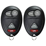 KeylessOption Keyless Entry Remote Control Car Key Fob Replacement for L2C0007T (Pack of 2)
