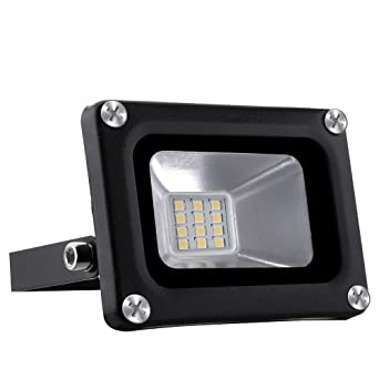 10W LED Foco proyector para exterior, LED Reflector industrial ...