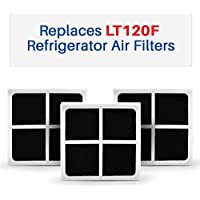 3-pack LG LT120F Compatible Air Filters - Fits LT120F And ADQ73214404 Refrigerator Air Filters - Fresh Air Filter 3-Pack
