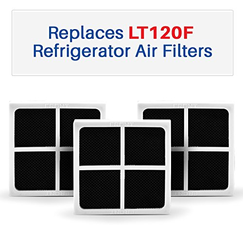 Compatible Air Filters - Fits LT120F and ADQ73214404 Refrigerator Air Filters - Fresh Air Filter 3-Pack ()