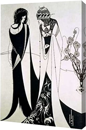 Salome by Aubrey To Beardsley – ギャラリーWrapped Gicleeキャンバスアートプリント Aubrey – B01NAW71UA Ready To Hang 11