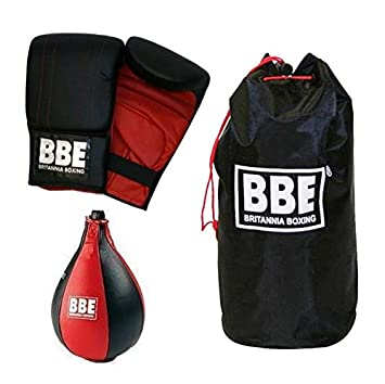 AQF Leather Speed Ball /& Swivel Boxing Punch Bag MMA Speed Bag Training Set Mult