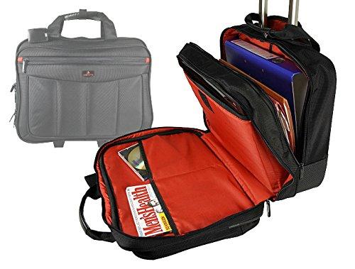 Trolley, Businesskoffer, Aktenkoffer, Pilotenkoffer, Aktentrolley mit Laptopfach, Dokumentasche, Handgepäck, Boardgepäck, Business-Akten-Trolley,
