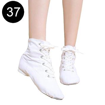 Wetour - Zapatillas de Ballet para Mujer con Suelo Blando ...