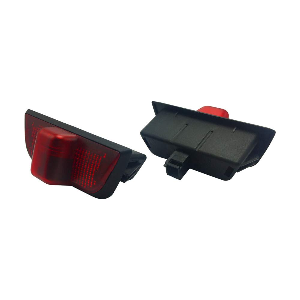 2 Pairs Of LED Courtesy Lights Easy Installation Car Door Laser Projector Logo Ghost Shadow Lights Welcome Light