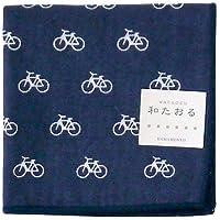 hamamonyo Gauze Pile Handkerchief Bicycle