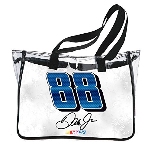 - R and R Imports Dale Jr. #88 NASCAR Clear Tote Bag
