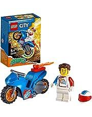 LEGO® City Rakietowy motocykl kaskaderski 60298 — zestaw konstrukcyjny; fajna zabawka dla dzieci (14 elementów)