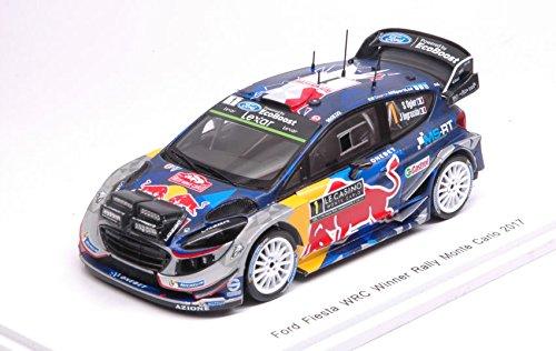 FORD FIESTA WRC N.1 WINNER MONTE CARLO 2017 S.OGIER-J.INGRASSIA 1:43 - Spark Model - Auto Rally - Die Cast - Modellino