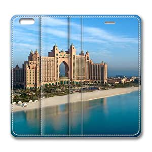 Atlantis The Palm Standing Leather Smart Cover Case Exclusive for iPhone 6 Screen