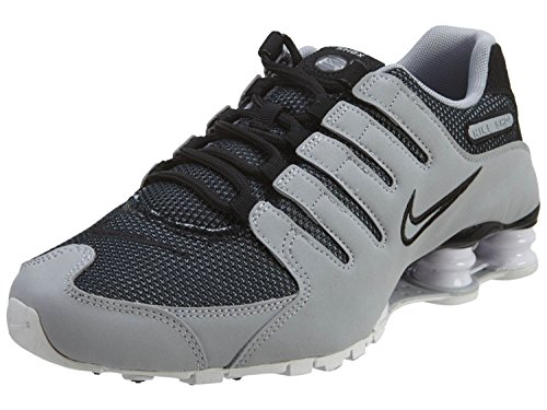 NIKE Mens Shox NZ Sneakers New, Grey/Black 833579-001 SZ 6.5