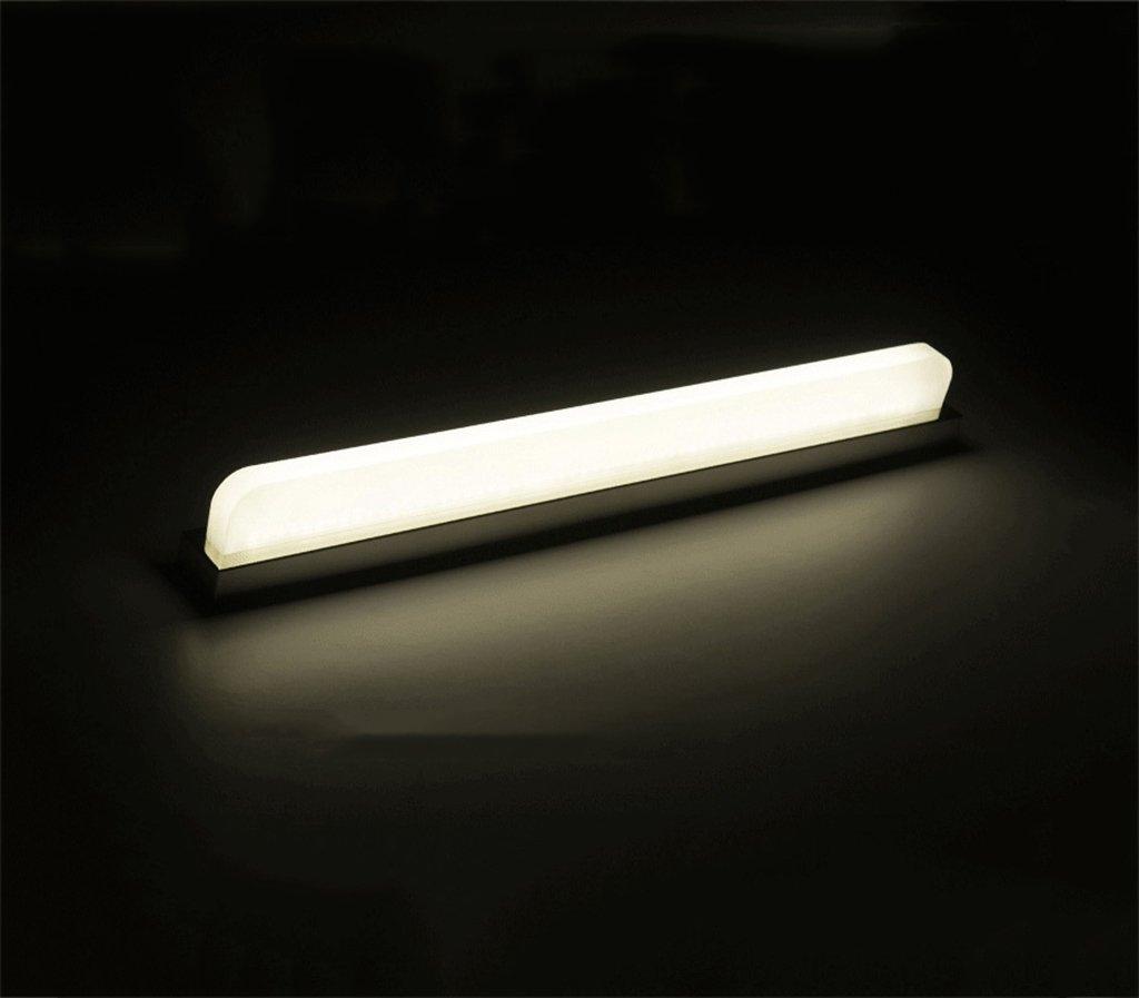 Kreatives Design Spiegel Lampe Led energiesparlampen Toiletten Make-Up Spiegel Gang Wandleuchte Moderne Mode Wandleuchte [energiesparende A +] (Farbe   weißes Licht-120cm 24W)