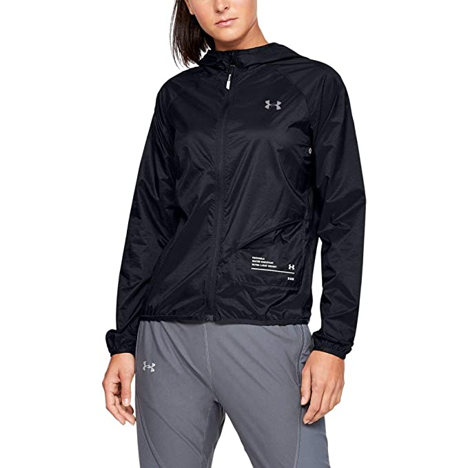 868824321f0e Amazon.com : Under Armour Women's Qualifier Storm Packable Jacket ...