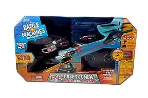 Jada Toys Battle Machines - Laser Combat Air Vs. Land