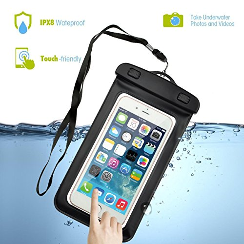Cheap Cell Phone Accessories Uviversal Waterproof Phone Case, Firefish Waterproof Pouch Bag Case with Armband +..