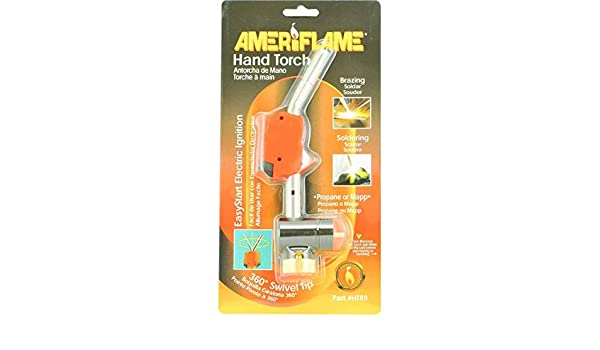Amazon.com: HAND TORCH UNIWELD WITH ELECTRIC IGNITION HT89: Home Improvement