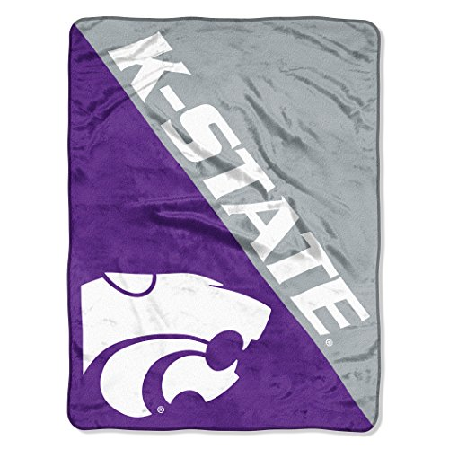 - The Northwest Company Officially Licensed NCAA Kansas State Wildcats Halftone Micro Raschel Throw Blanket, 46