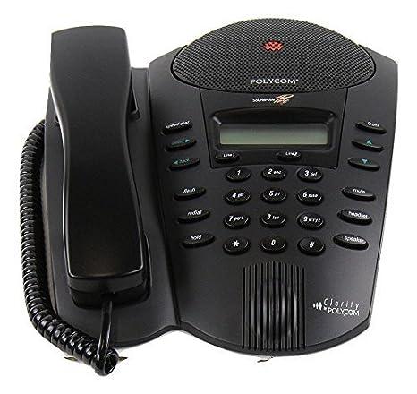 amazon com polycom soundpoint pro se 220 2 line conference phone rh amazon com polycom soundpoint pro se-225 manual polycom clarity soundpoint pro manual