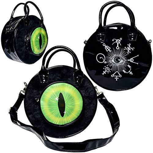 Kreepsville 666 Eyeball Bag Black Cat