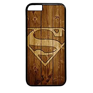 iphone 6 plus case,custom iphone 6 plus case, Wood background Superman logo diy iphone 6 plus case,pc Material,Drop Protection,Shock Absorbent